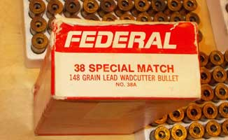 Federal 38 Special Brass