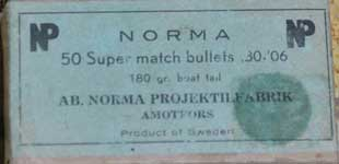 NORMA 30-06 Bullets