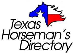 Texas Horseman's Directory Subject Index for Horseback